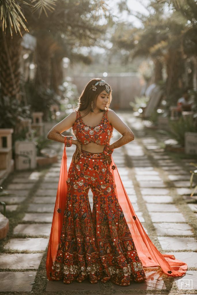 Self Designed Wedding Outfits