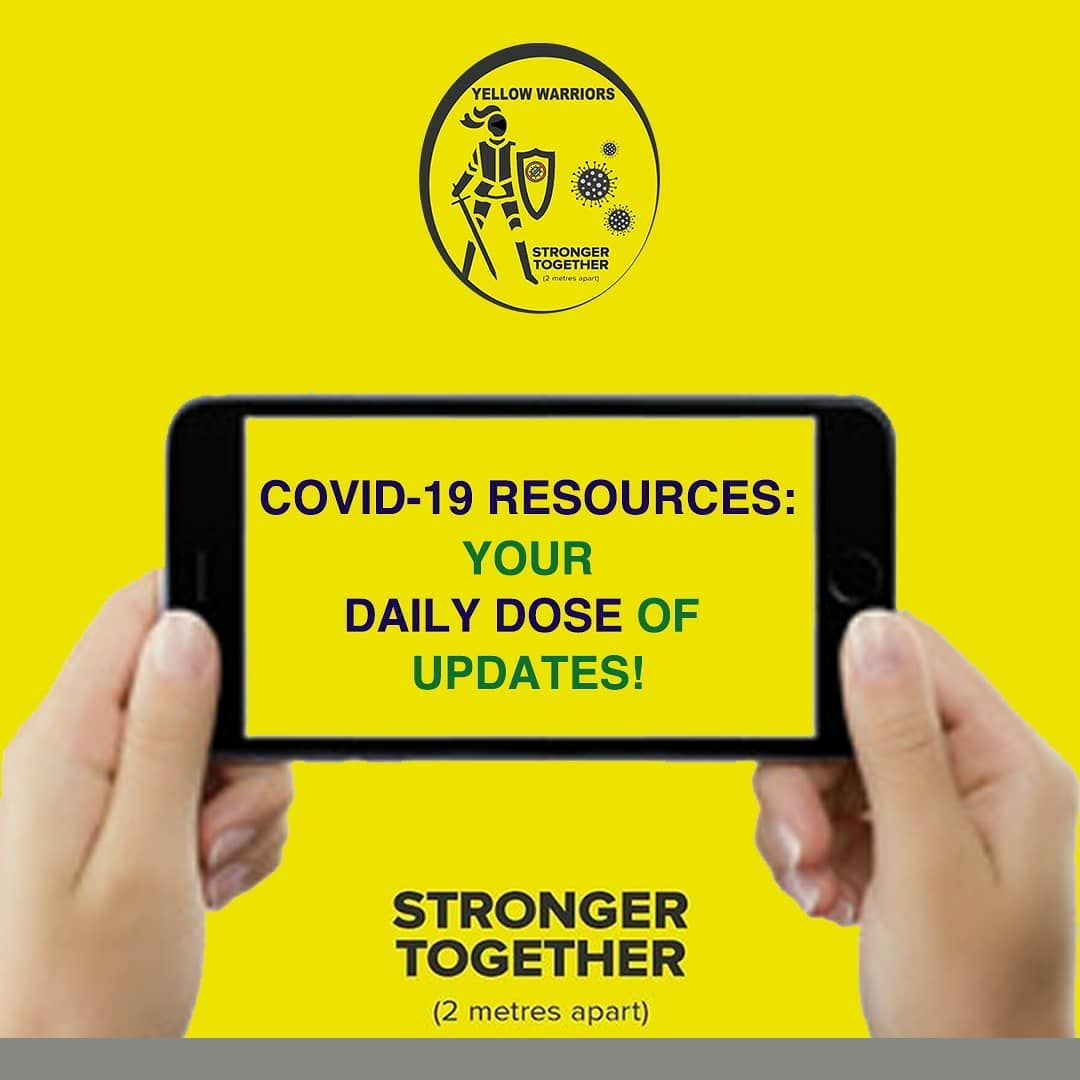 yellow warriors covid aid information