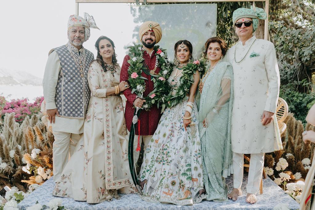 Divish & Rhea wedding picture
