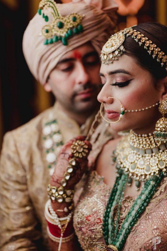 bridal weddign jewellery