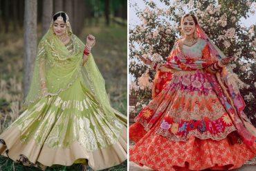 Sikh Brides In Offbeat lehengas