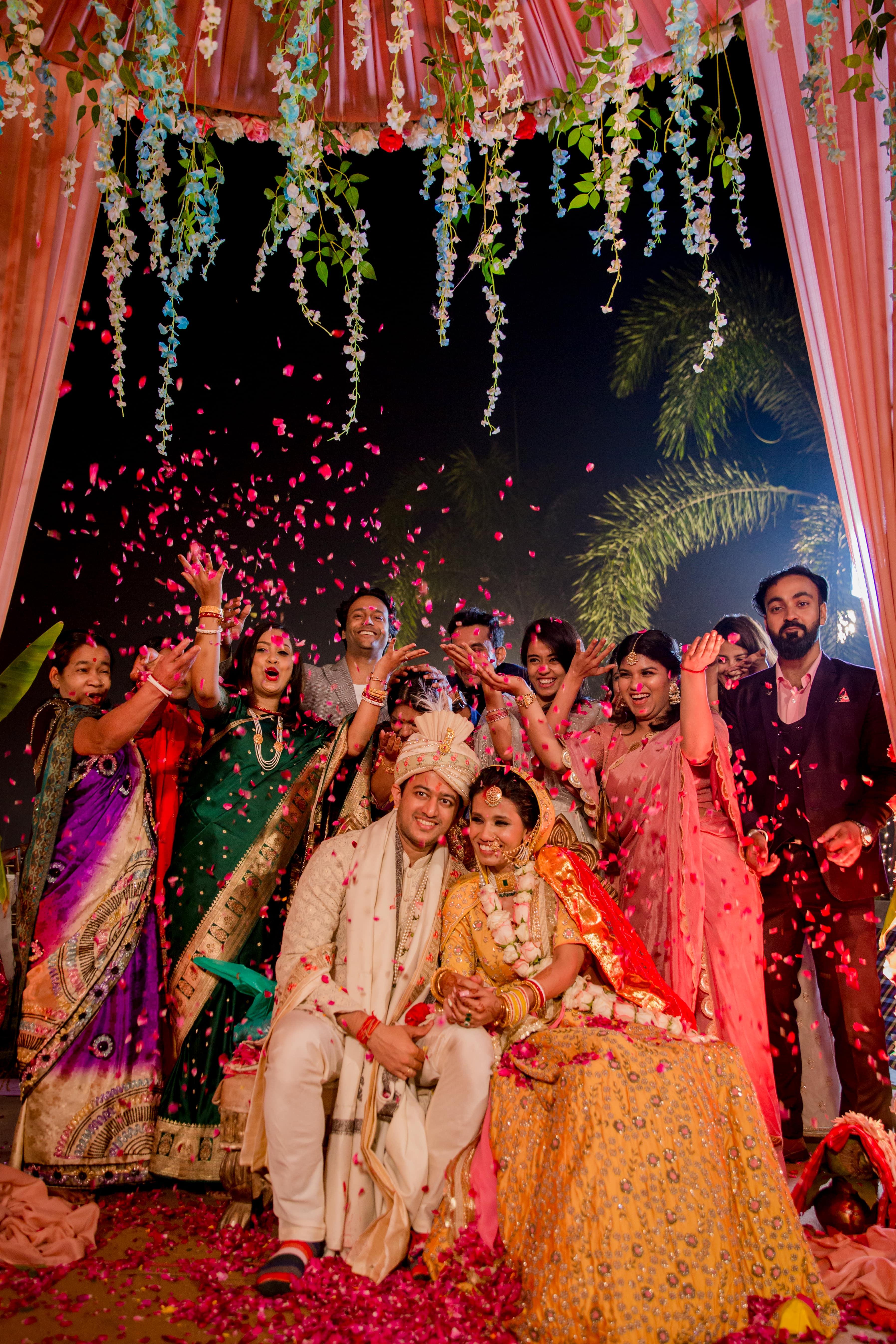Bengali and Marwari wedding