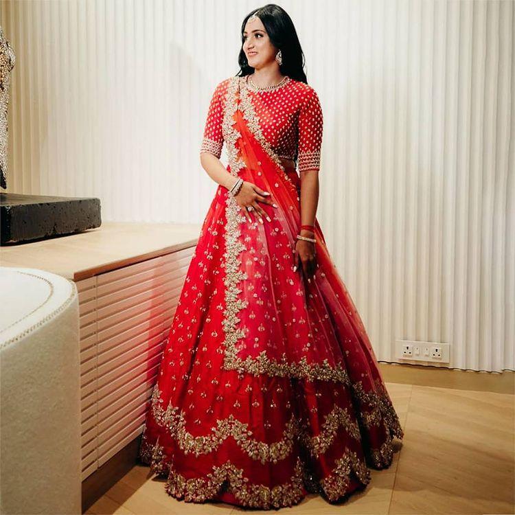 Anushree Reddy Bridal Lehengas