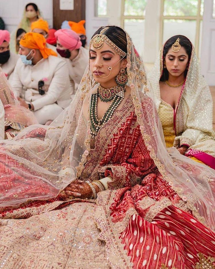 bandhej wedding outfits