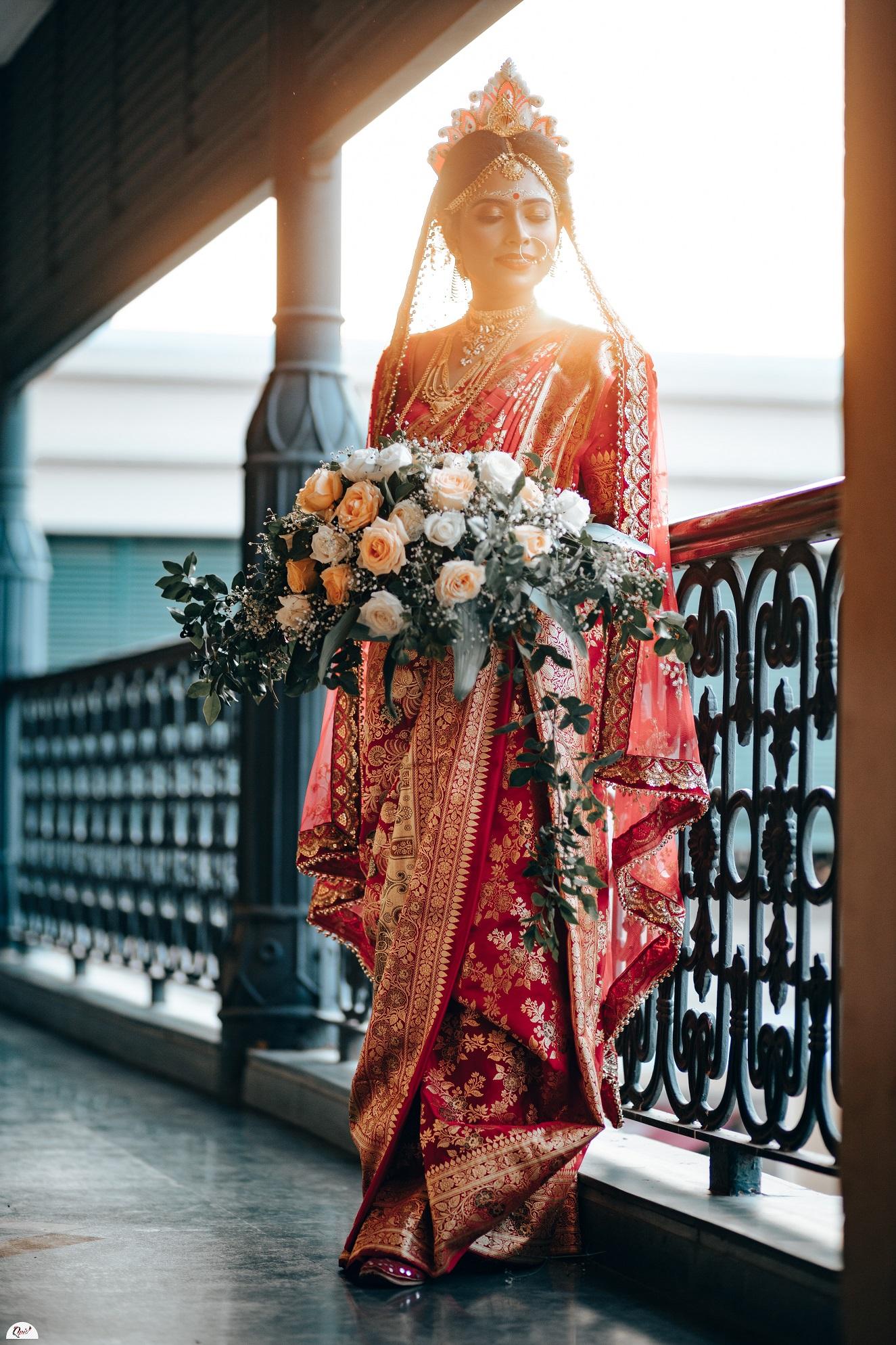 bengali bridal saree