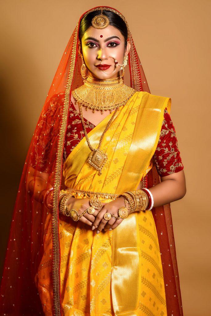 Kolkata bridal makeup artist
