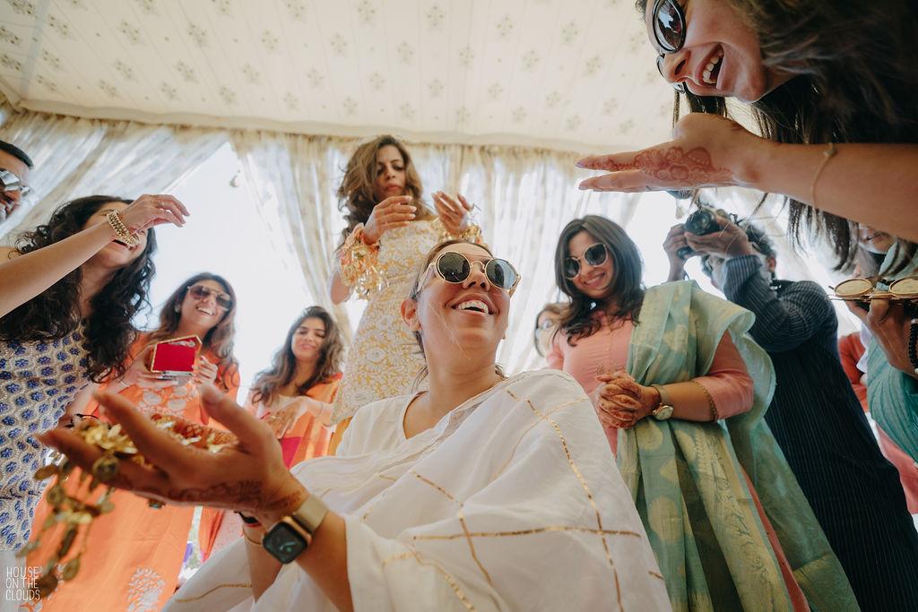 bridal kaleera ceremony