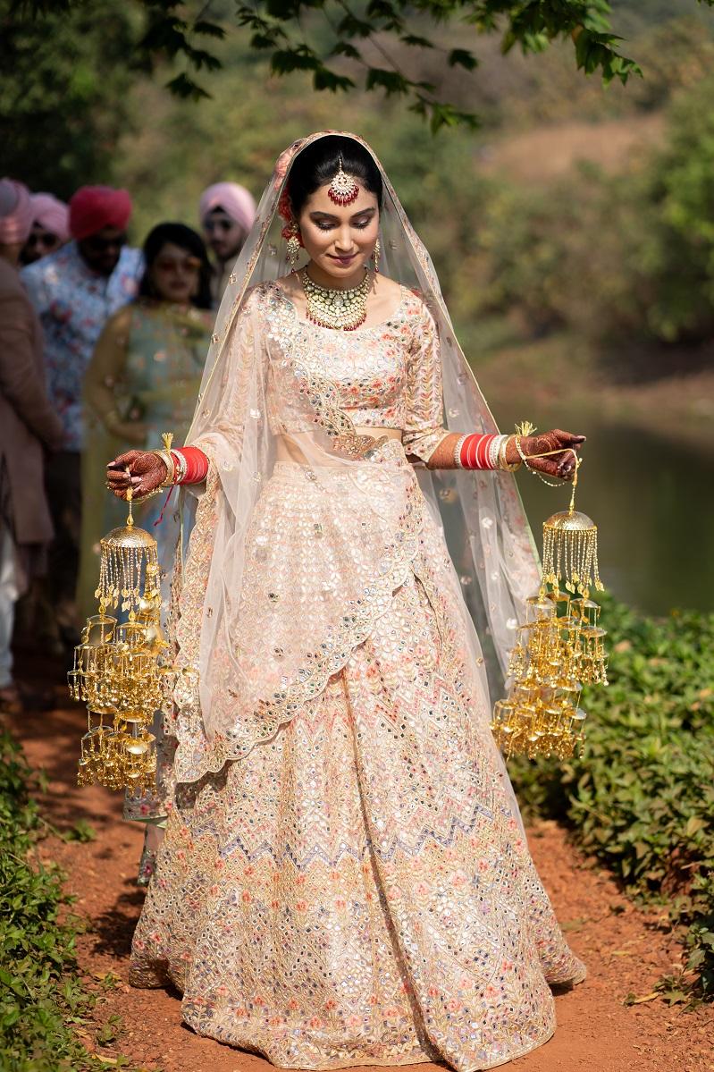 bridal kaleera shot