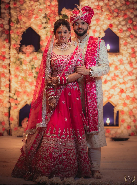 engineer-architect duo's wedding