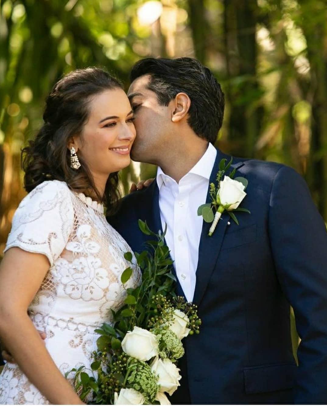 evelyn sharma's intimate wedding