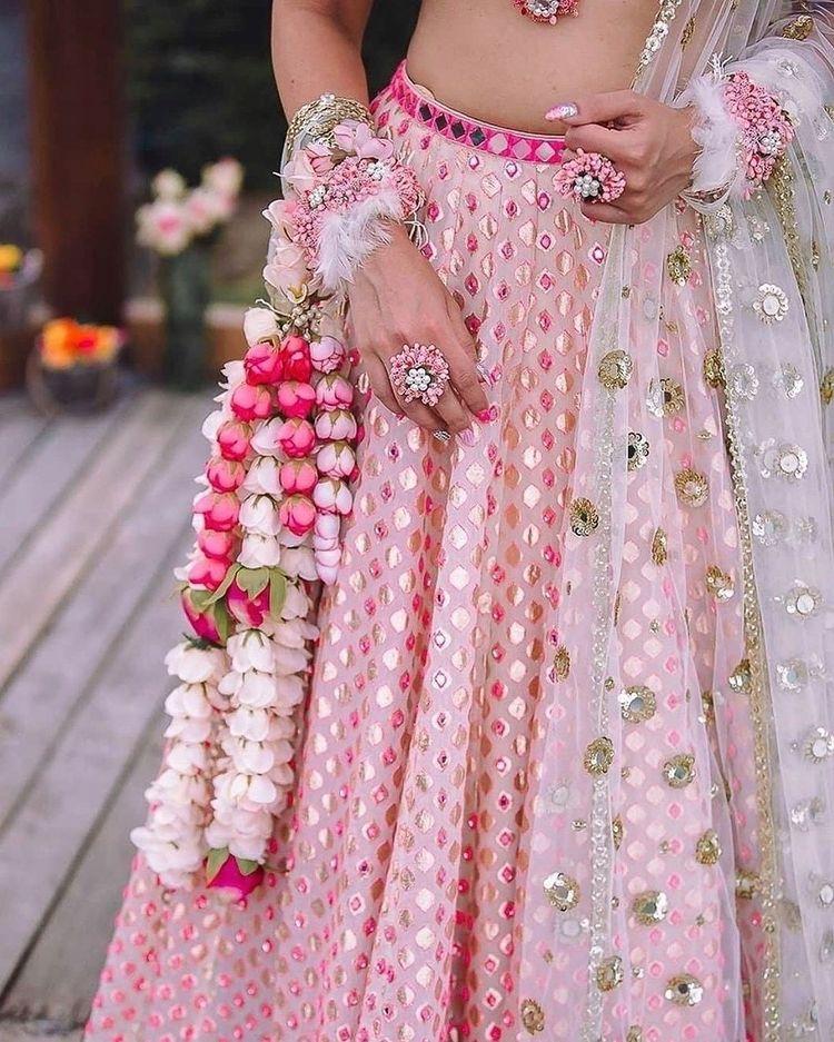 floral kaliras for brides
