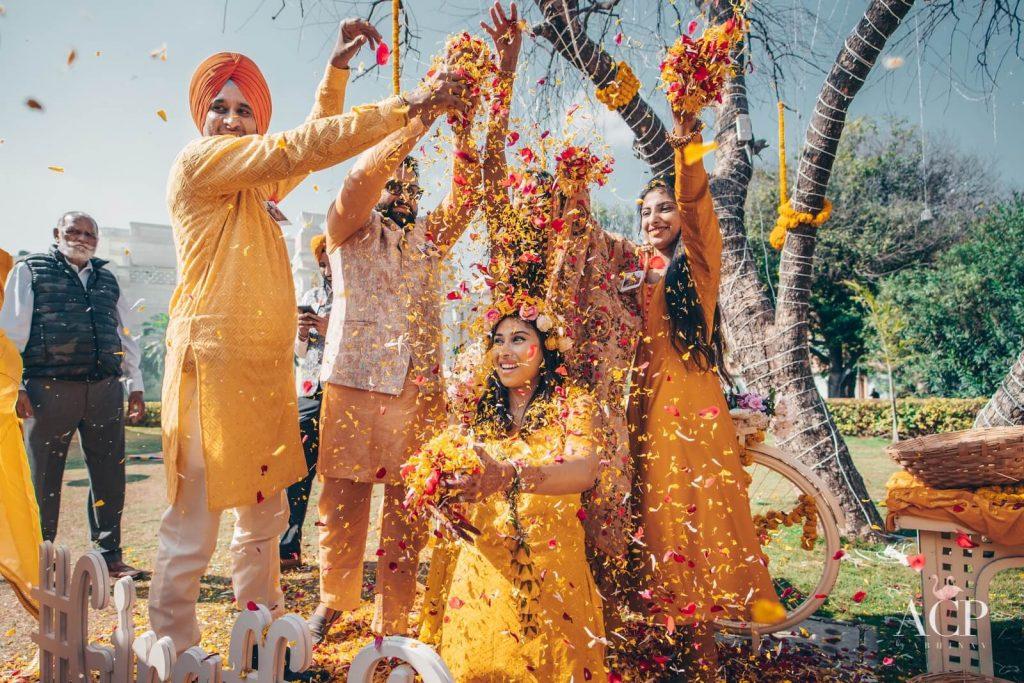 haldi ceremony pictures