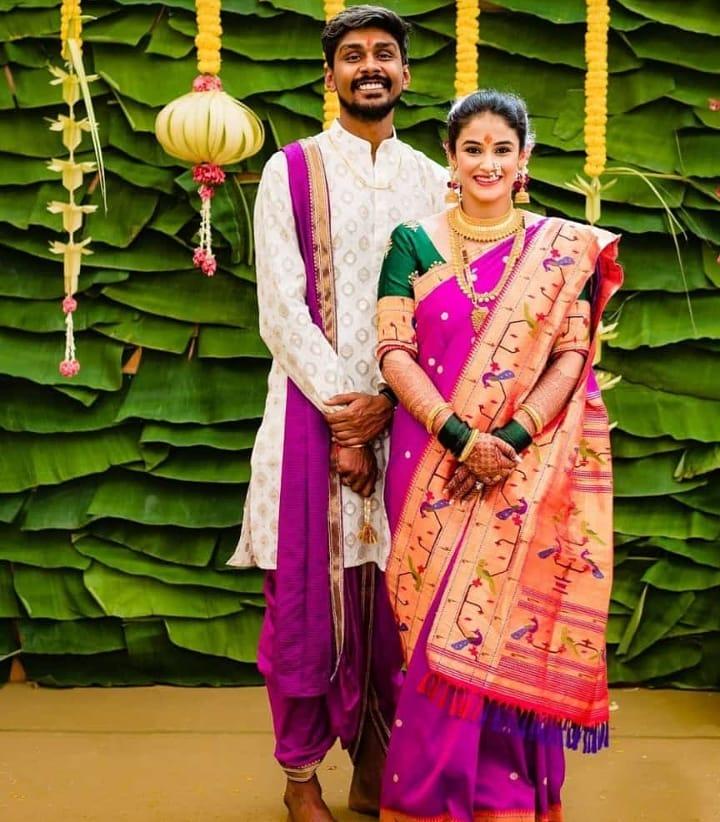 Maharashtrian bridal attire