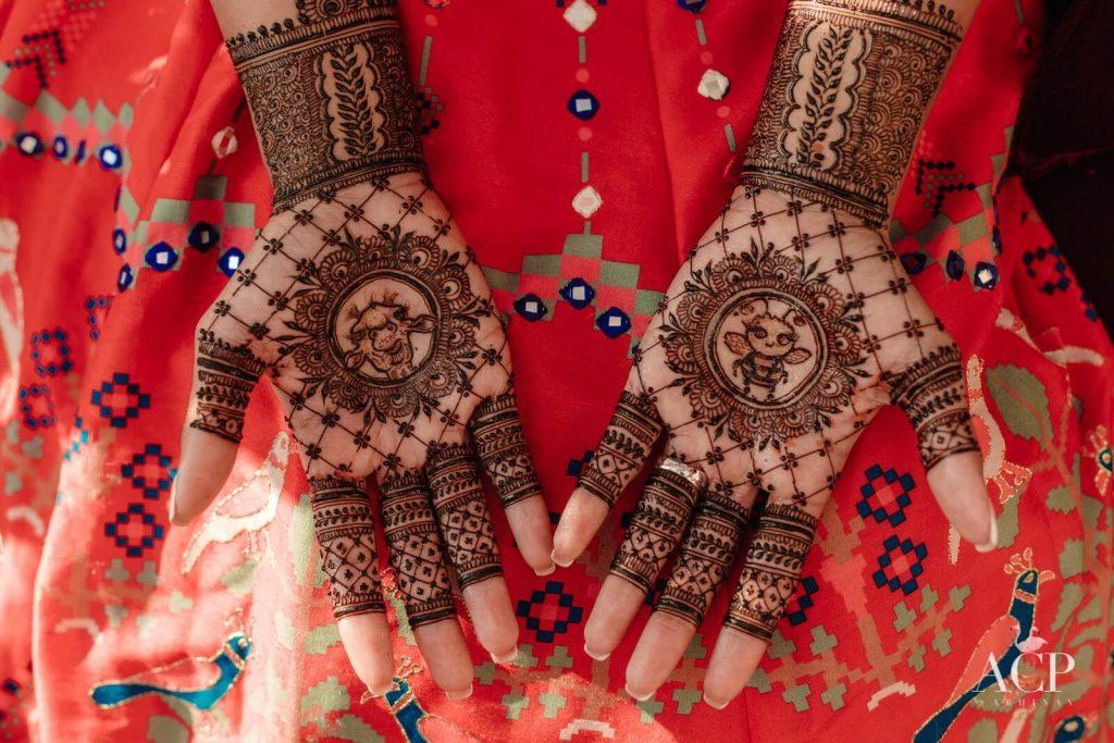 simple bridal mehendi