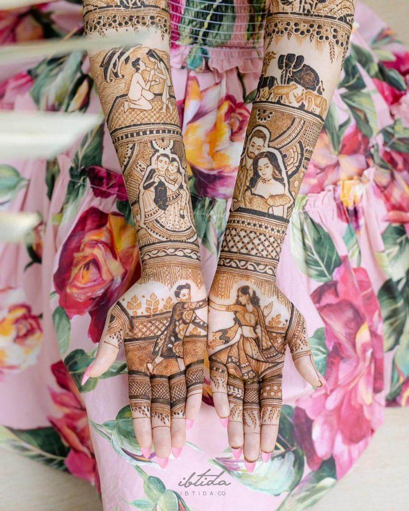 Personalised Bridal Mehendi