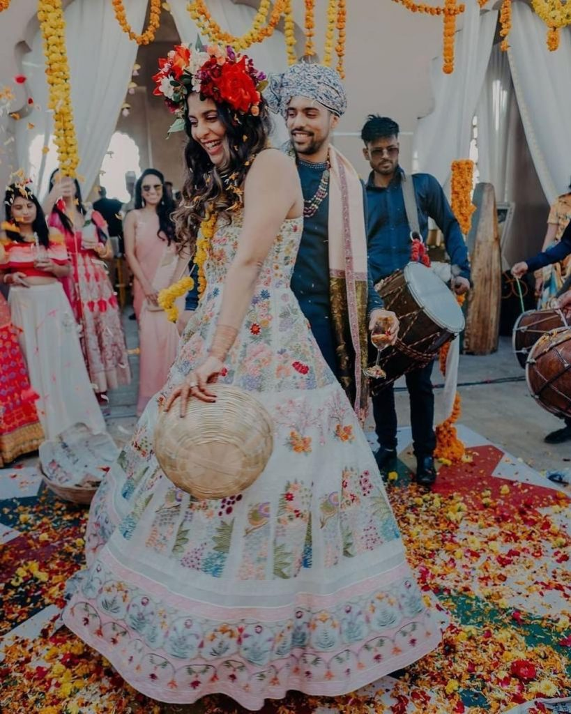 offbeat bridal dresses