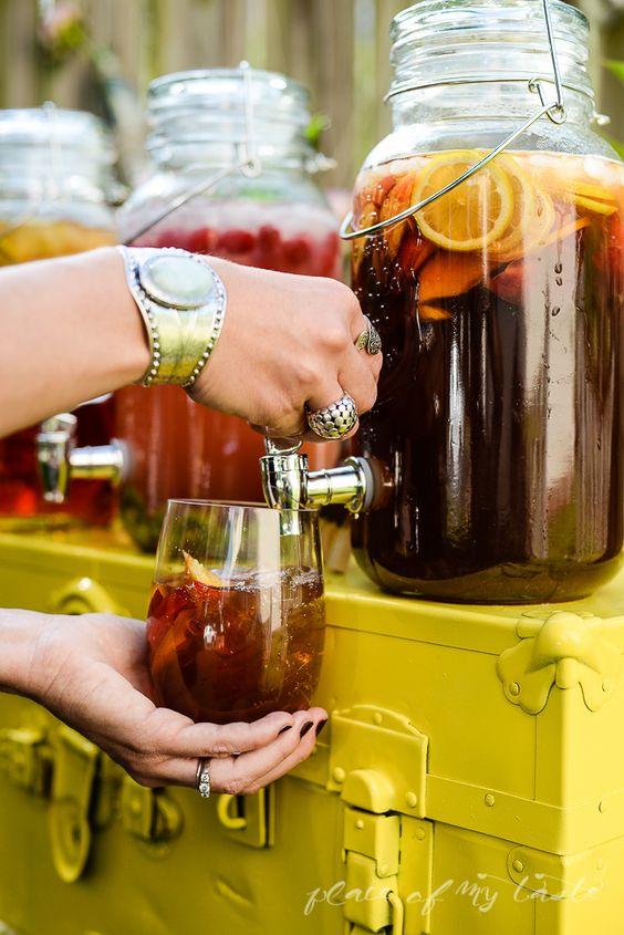 refreshment drinks