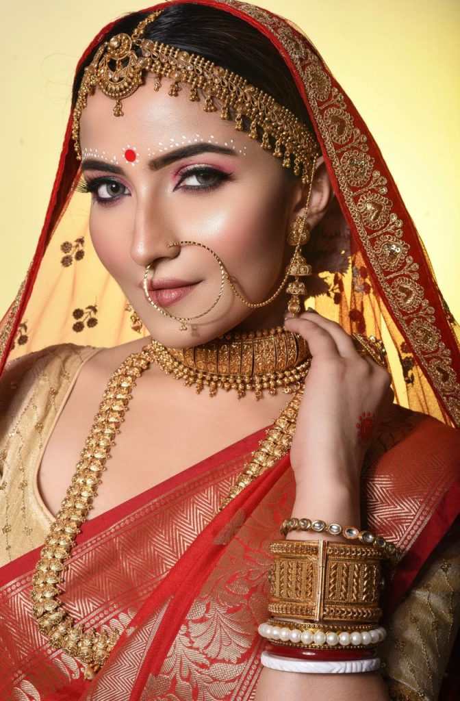 Sharen's Makeover In Kolkata