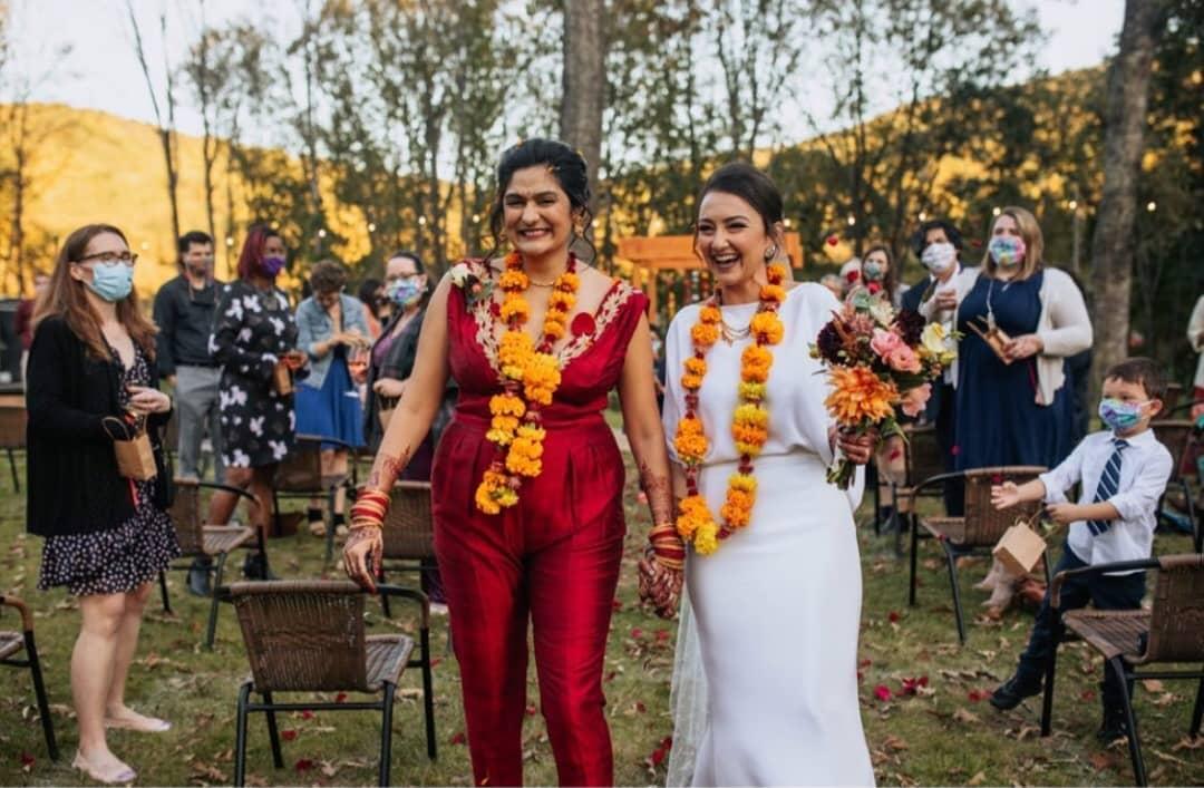 unique same-sex wedding