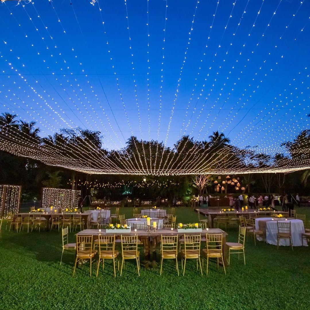 wedding light decor