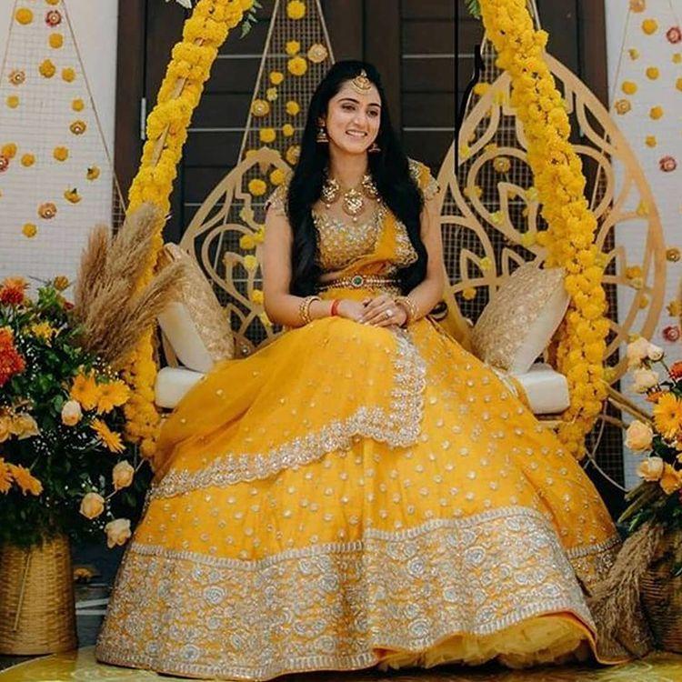 nushree Reddy bridal wear