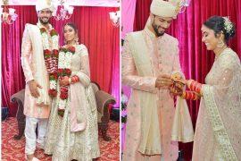 Cricketer Shivam Dube's Wedding (1)