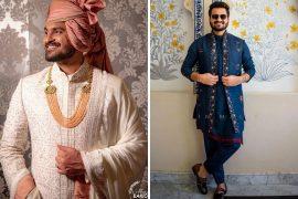 Grooms Wearing Jatin Malik Couture